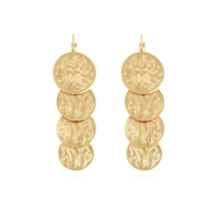 Boucles d'Oreilles Very Diva Quadruple Or
