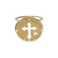 Bague Croix Dentelle Gold