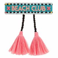 Bracelet Tissu WorldPass Beach Club Turquoise