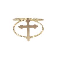 Bague Croix Gold