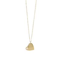 Collier - Ras de Cou Double Coeur Gold