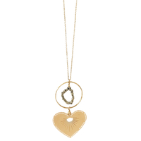 Collier - Sautoir Coeur Gold