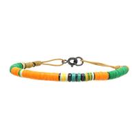 Bracelet Orange Ocre 4mm