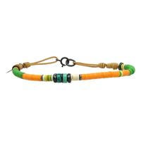 Bracelet Orange Ocre 3mm