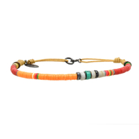 Bracelet Orange Corail 3mm