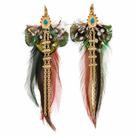 Boucles d'Oreilles Anahy Turquoise
