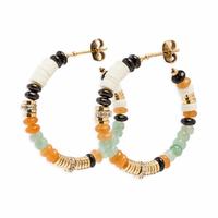 Boucles d'Oreilles Majenga Jade