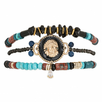 Bracelet Tomahawk Black / Noir