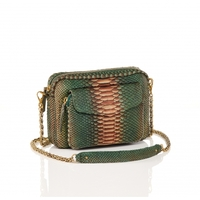 Sac Python Big Charly Bronze Chaine