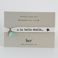 Bracelet Ruban A la Belle Etoile