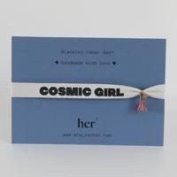 Bracelet Ruban Cosmic Girl