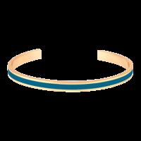 Bracelet Bangle Bleu Canard
