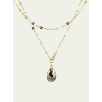 Collier Ana Pyrite