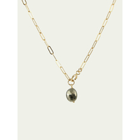 Collier One Love Pyrite