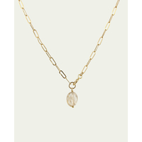Collier One Love Quartz Rutile Doré