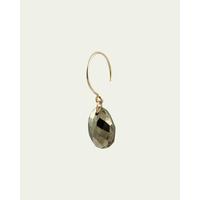 Boucle d'Oreilles Mono Ana Pyrite