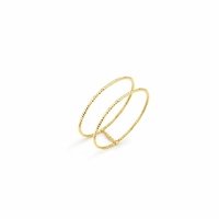 Bague Ode Double Gold