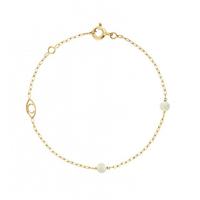 Bracelet Massilia Nacre Or