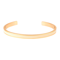 Bracelet Bangle Blanc Sable