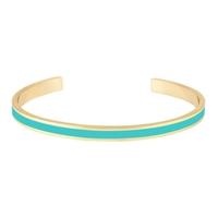 Bracelet Bangle Vert Arcadia