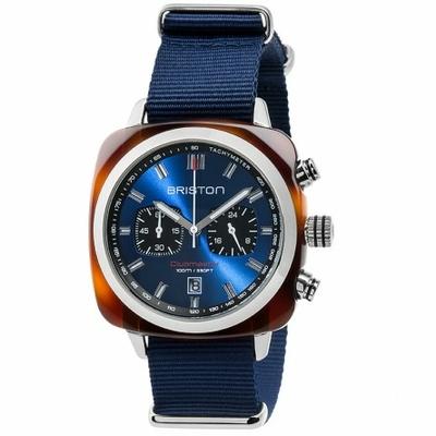 17142.SA.TS.9.NNB_clubmaster-sport-acetate-chronographe-ecaille-de-tortue-cadran-bleu-soleille-nato