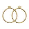 CLJ41001_Idylle Gold Solid and Marble Hexagon Set of Two Rings_top_w