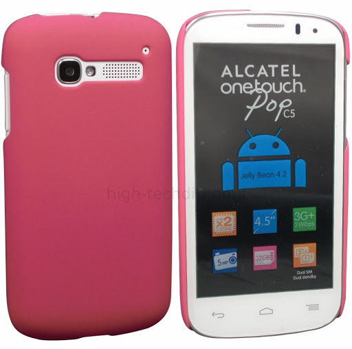 Housse etui coque rigide pour alcatel one touch pop c5 for Housse alcatel one touch