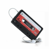 Housse etui coque silicone gel cassette NOIR pour Apple iPhone 4S / iPhone 4 + film ecran