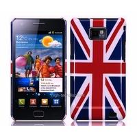 Housse etui coque rigide UK Angleterre pour Samsung i9100 Galaxy s2 + film ecran