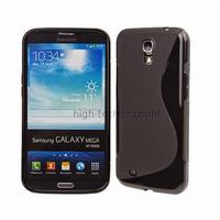 Housse etui coque silicone gel pour Samsung i9200 Galaxy Mega 6.3 + film ecran - NOIR