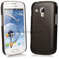 Housse etui coque pochette pour Samsung s7580 Galaxy Trend Plus + film ecran - NOIR RIGIDE