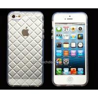 Housse etui coque gel diamant BLANC pour Apple iPhone 5 5S 5G + film ecran