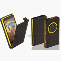 Housse etui coque pochette PU cuir fine pour Nokia Lumia 1020 + film ecran - NOIR
