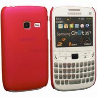 Housse etui coque pochette rigide pour Samsung s3570 Chat 357 + film ecran - ROSE RIGIDE