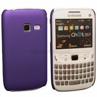 Housse etui coque pochette rigide pour Samsung s3570 Chat 357 + film ecran - MAUVE RIGIDE