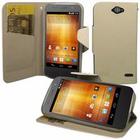 Housse etui coque pochette portefeuille pour Orange HI 4G - BLANC