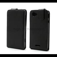 Housse etui coque pochette simili cuir pour Sony Xperia L + film ecran
