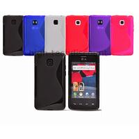 Housse etui coque pochette silicone gel pour LG Optimus L3 II 2 e430 + film ecran