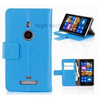 Housse etui coque portefeuille pour Nokia Lumia 925 + film ecran - BLEU