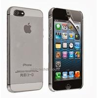 Housse etui coque fine rigide BLANC pour Apple iPhone 5 5S 5G + film ecran