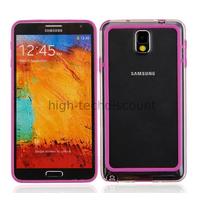 Housse etui coque bumper pour Samsung Galaxy Note 3 n9000 n9005 + film ecran - MAUVE