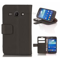 Housse etui coque portefeuille pour Samsung Galaxy Ace 3 s7270 s7275  + film ecran - NOIR