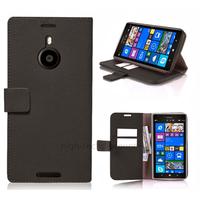 Housse etui coque pochette portefeuille pour Nokia Lumia 1520 + film ecran - NOIR