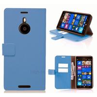 Housse etui coque pochette portefeuille pour Nokia Lumia 1520 + film ecran - BLEU