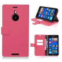 Housse etui coque pochette portefeuille pour Nokia Lumia 1520 + film ecran - ROSE