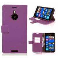 Housse etui coque pochette portefeuille pour Nokia Lumia 1520 + film ecran - MAUVE