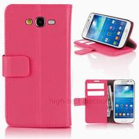 Housse etui coque portefeuille pour Samsung G7105 Galaxy Grand 2 + film ecran - ROSE