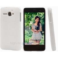 Housse etui coque pochette rigide pour Alcatel One Touch Star 6010D + film ecran - BLANC
