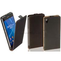 Housse etui coque pochette PU cuir fine pour Sony Xperia Z2 + film ecran - NOIR