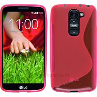 Housse etui coque silicone pochette gel fine pour LG G2 Mini + film ecran - ROSE